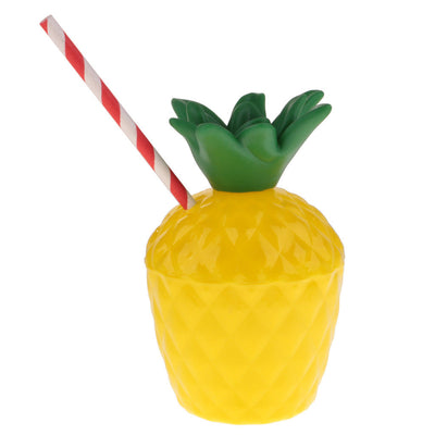 MagiDeal 5 Sets Novelty Pineapple Sunglasses & Drink Cup Party Supplies