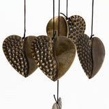 Chinese Love Heart Outdoor Windchimes