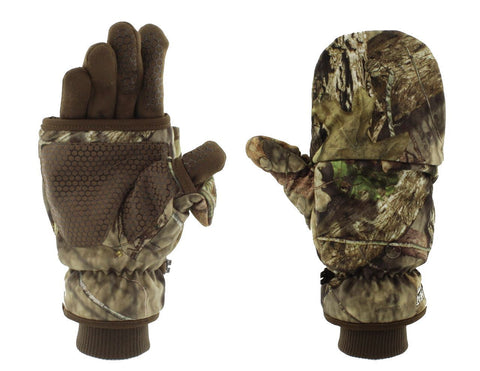 Heated Deluxe Pop-Top Mittens with liner