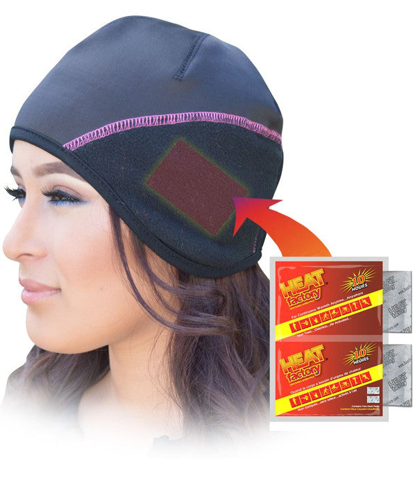 Ladies Heated Contour Beanie