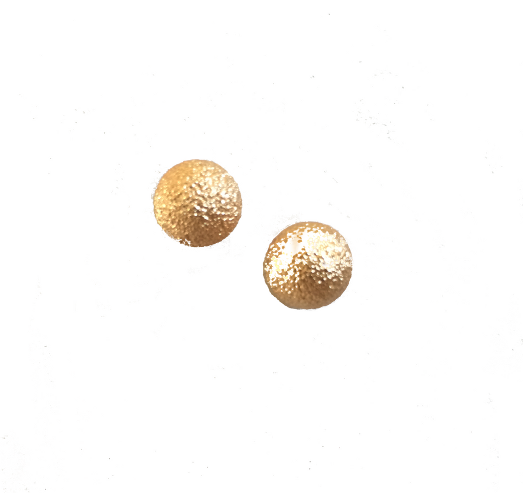 Gold Ball Studs - Anna Jane  - 2