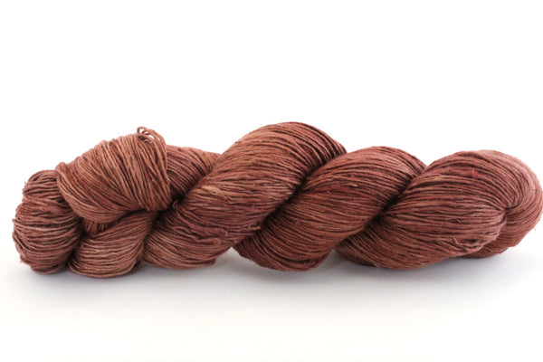 Reclaimed Silk - Lace Weight - Chocolate