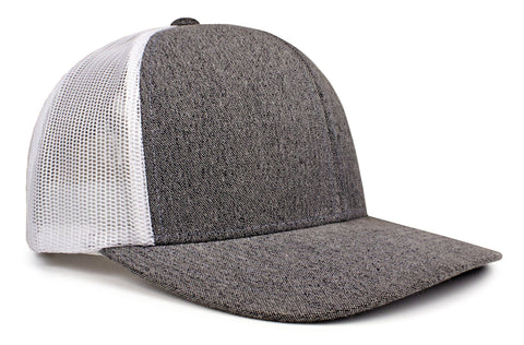 Heather Snapback Trucker (110C)