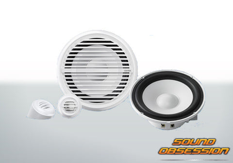 "Clarion CMG1622S 6-1/2"" 2-Way Marine Component Speaker"