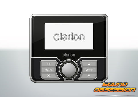 "Clarion MW4 Marine Watertight Remote Control With 3.0"" Colour LCD"