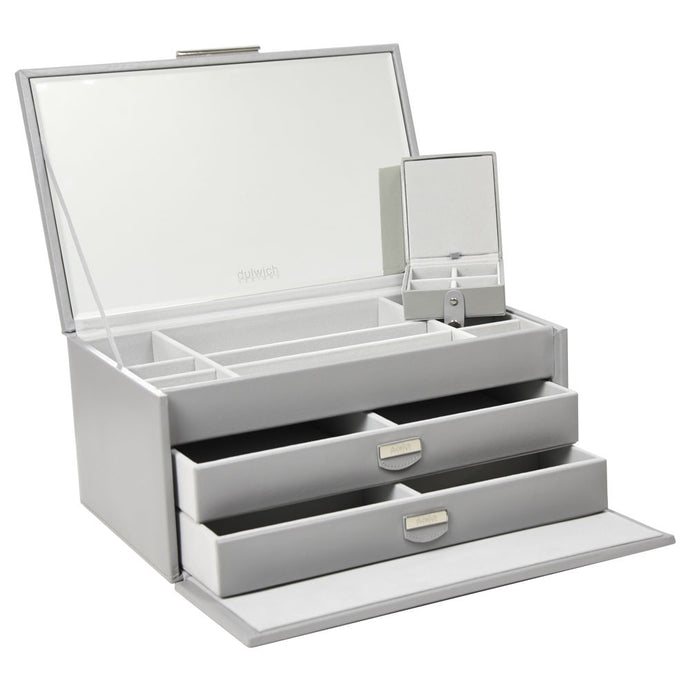 Dulwich Design Grey Large Jewellery Box