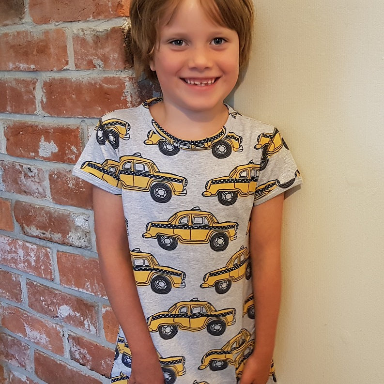 Taxi Pocket Dress (3-10 years)