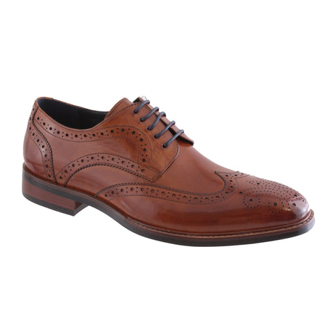 mens tan brouge shoe