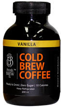Cold Brew Coffee | Vanilla | 4 Bottles