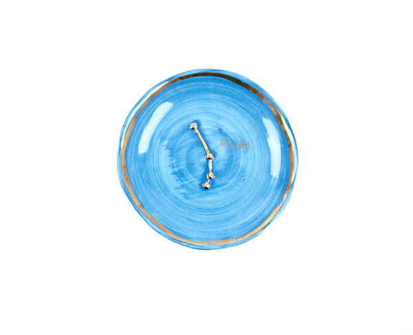 Aries Zodiac Sign Trinket Dish