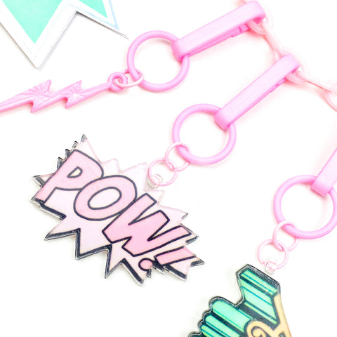 Awesome Charm // Pink Clip