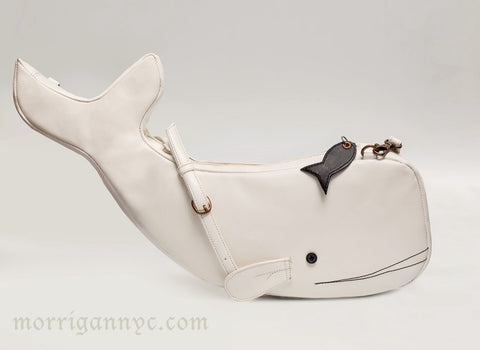 Moby Dick Whale Bag,  Bag, Morrigan NYC gothic kawaii sweet Lolita Collective