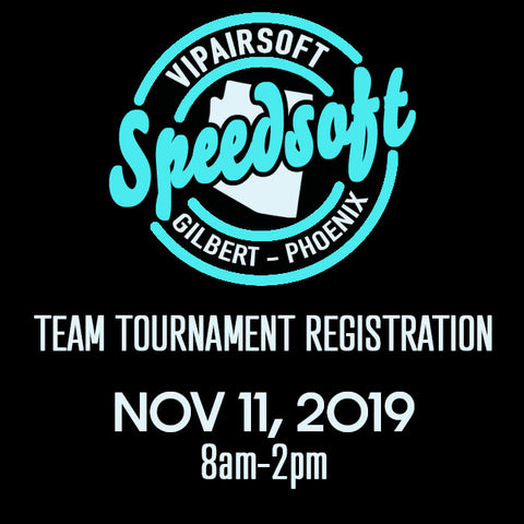 SpeedSoft Tournament Team Registration