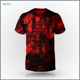 Blue Stahli - Down In Flames Cut & Sew All-Over Print T-Shirt