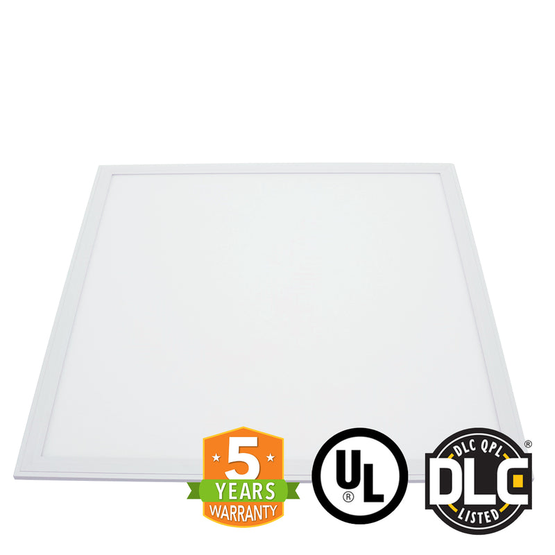 2' x 2' 40W LED Panel Light - PMMA - (UL+DLC) - Dimmable - *Buy By The Box Promo* - Green Light Depot