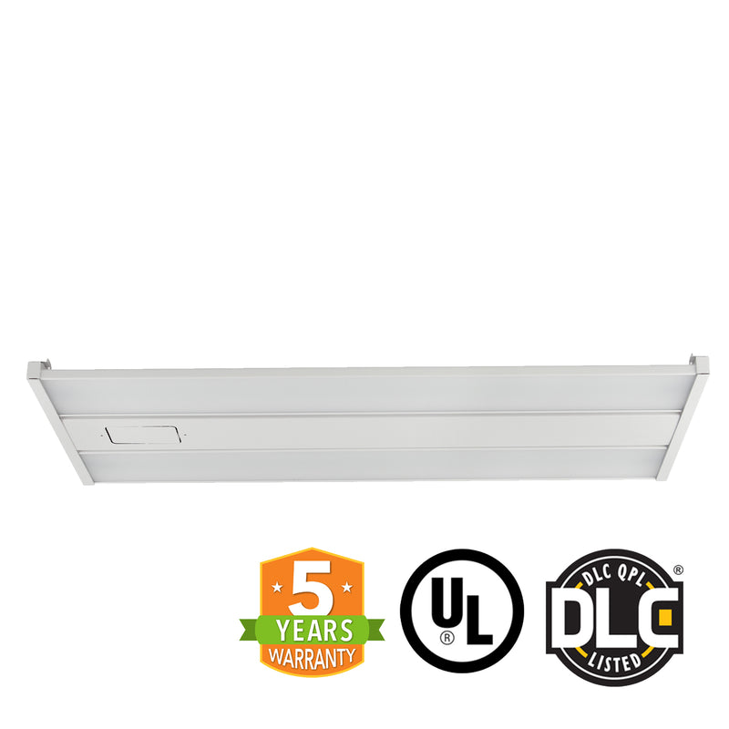 4ft LED Linear High Bay - Frosted Lens - 220W - Cable Mounting - Gen 3 - (UL+DLC) - Green Light Depot