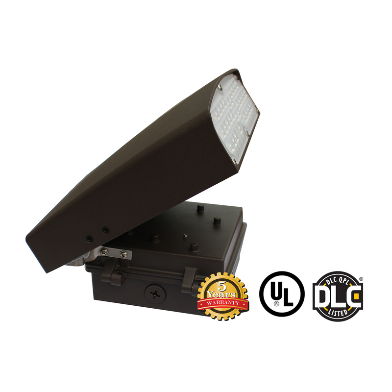 30W LED Wall Pack Light - WPK Series - Dark Sky (UL + DLC) - Green Light Depot