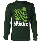 Nurse - Don't Kiss Me - District Long Sleeve / Dark Green / S - 8