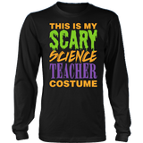 Science - Halloween Costume - District Long Sleeve / Black / S - 3
