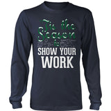 Math - 'Tis the Season - District Long Sleeve / Navy / S - 2