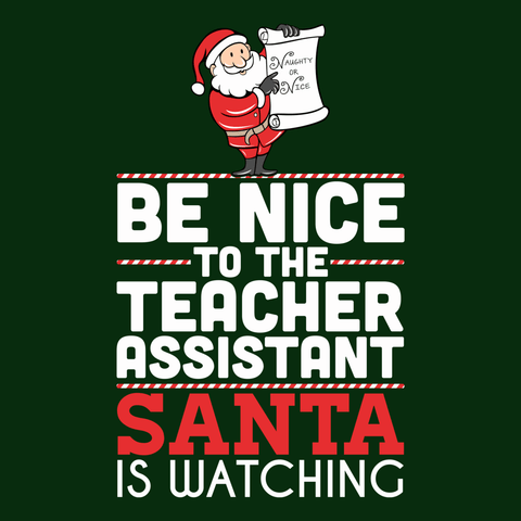 Teacher Assistant - Be Nice Holiday -  - 9