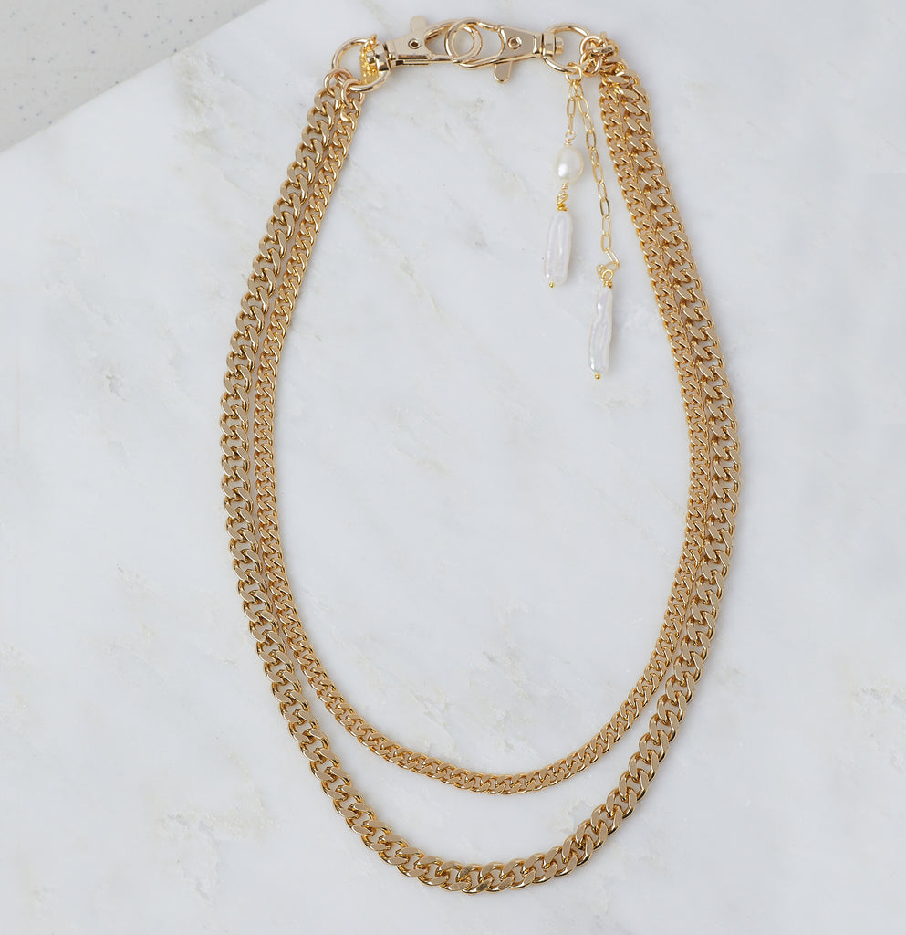 Monaco Duo Hip + Neck Chain