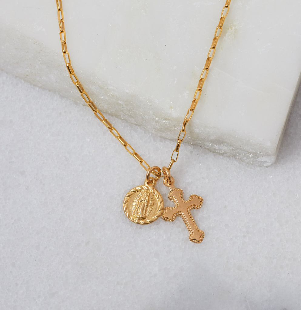 Like A Virgin Charm Necklace