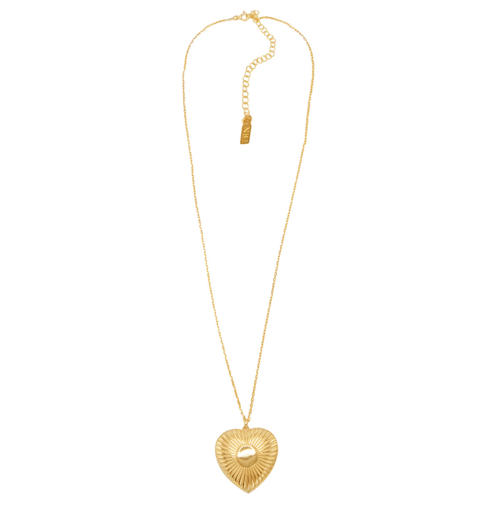 Utopian Heart Necklace
