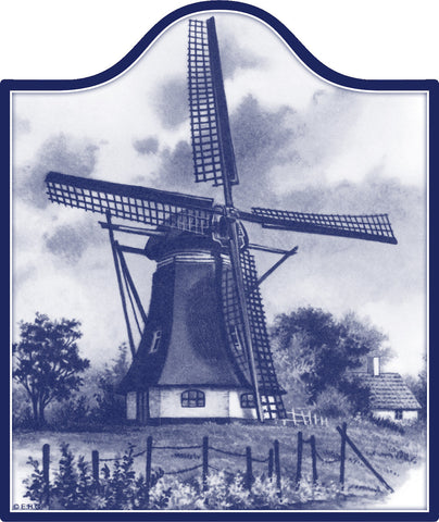 Ceramic Cheeseboard: Windmill - DutchNovelties  - 1