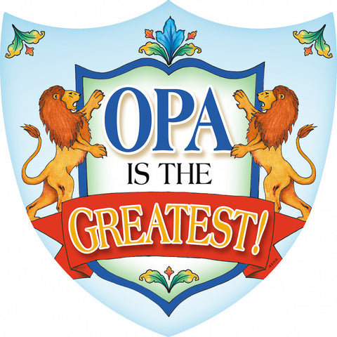 Ceramic Wall Decor: Opa - DutchNovelties  - 1