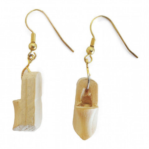 Holland Wooden Shoe Earrings - DutchNovelties