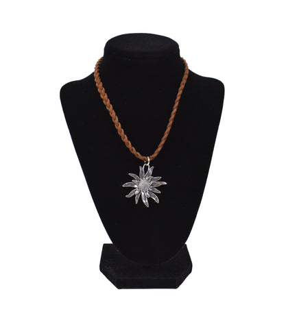 Classic Edelweiss Braided Necklace - DutchNovelties