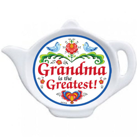 """Grandma is the Greatest"" Teapot Magnet - DutchNovelties"