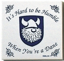 Danish Culture Magnetic Tile (Humble Dane) - DutchNovelties  - 1