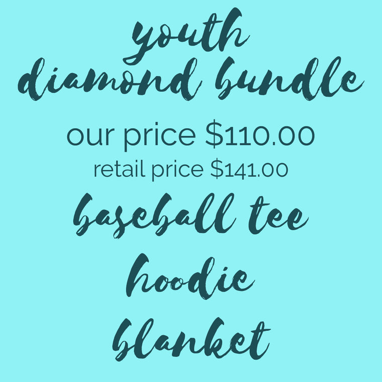 YOUTH DIAMOND BUNDLE - CUSTOM SCHOOL/ TEAM APPAREL