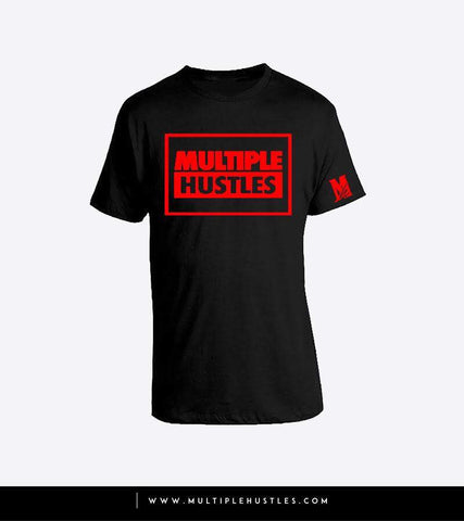 MH Box Tee Black/Red