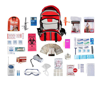 Home or Evacuation Deluxe 72 Hour Survival Kit