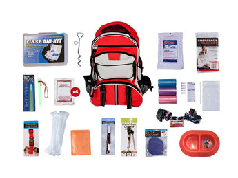 Home or Evacuation Dog 72 Hour Survival Kit
