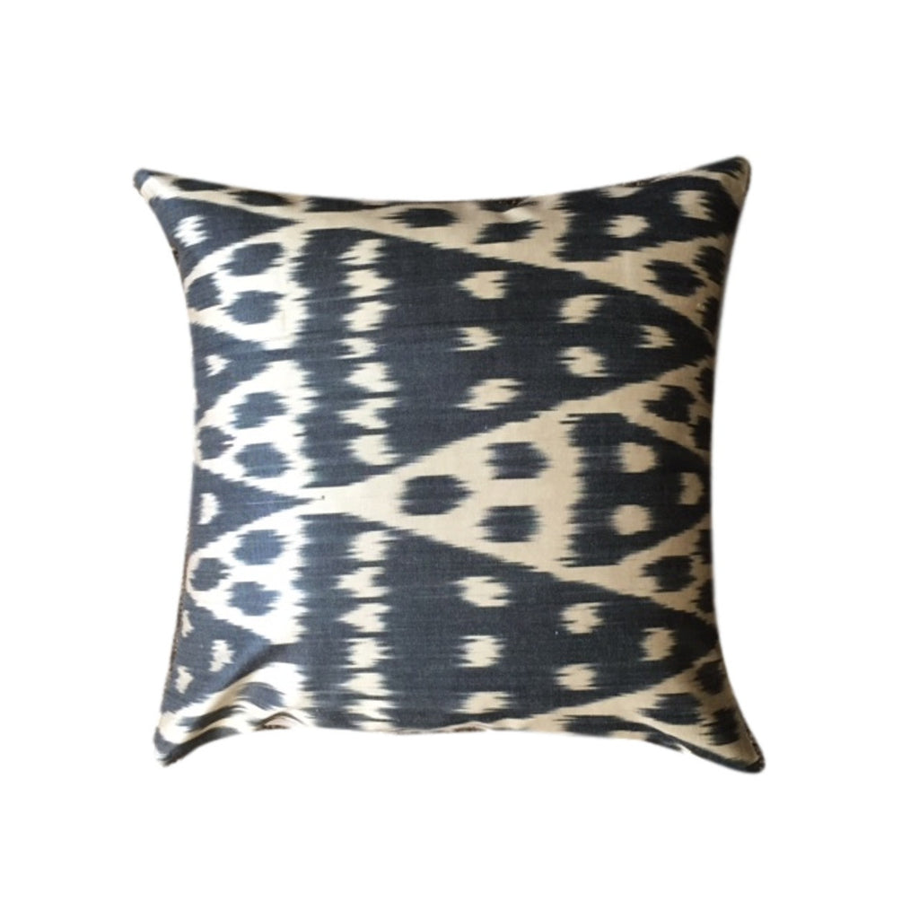 IKAT cushion cover - Black - 45 x 45 cm