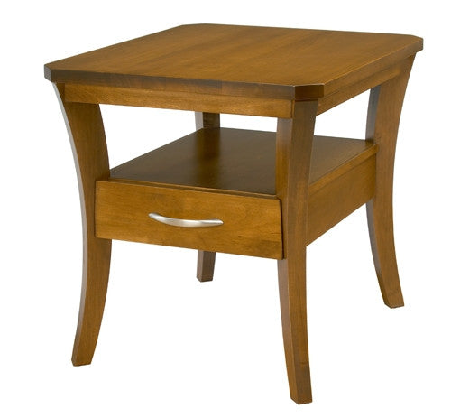 A. A. Laun Urbane End Table With Drawer 6502