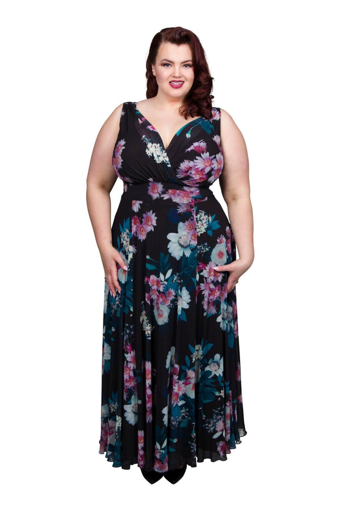 Nancy Marilyn 'In Bloom' Maxi Dress