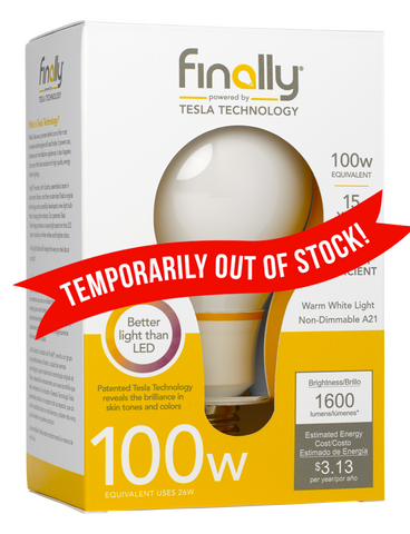 Finally 100w Equivalent Light Bulb