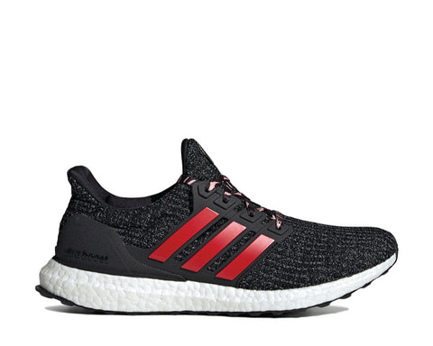 Adidas Ultra Boost Core Black Scarlet