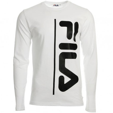 Fila Tomo Long Sleeve Tee White