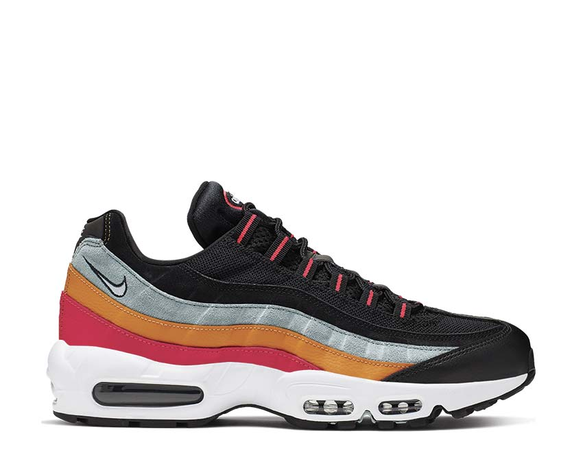 Nike Air Max 95 Essential Black White Ocean Cube Kumquat AT9865-002