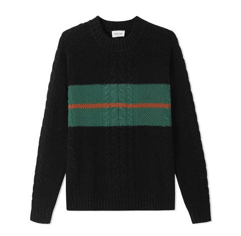 Wood Wood Calvin Sweater Black
