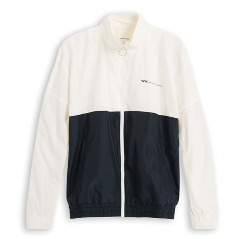 Wood Wood Homer Jacket Off White Navy