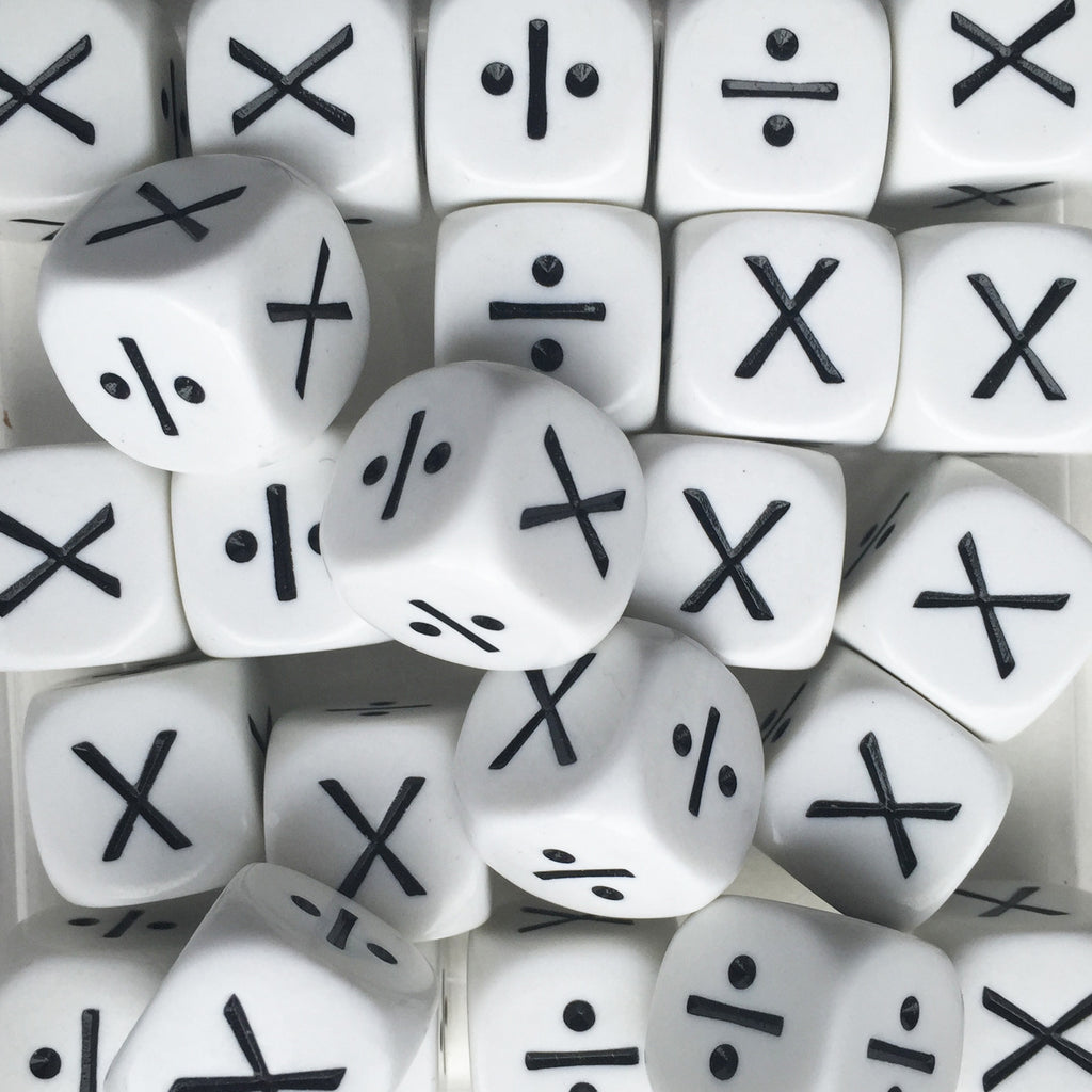 Multiplication & Division Dice