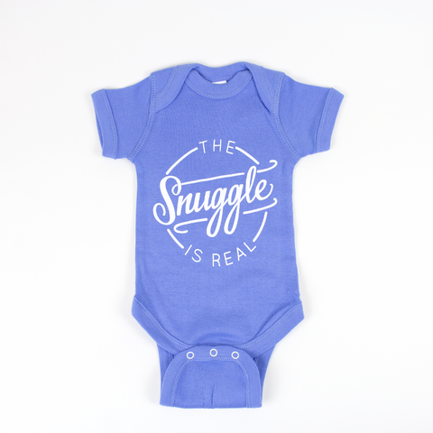 The Snuggle is Real Baby Onesie and Toddler Tee