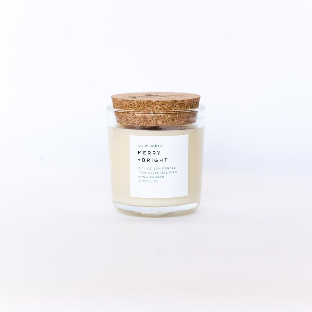 Slow North - Tumbler Candles | Merry + Bright (Seasonal Release)